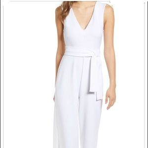 Leith White jumpsuit